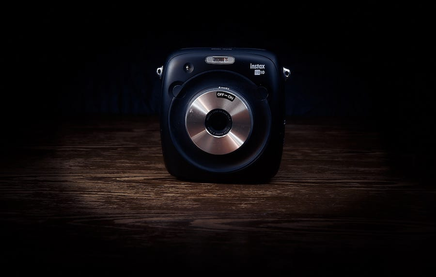 Fuji Film SQUARE SQ 10 - Polaroid Kamera